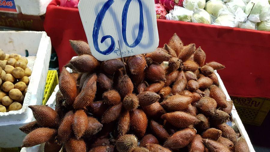 Frutas Tropicales de Tailandia - Snake Fruit - Fruta de la Serpiente