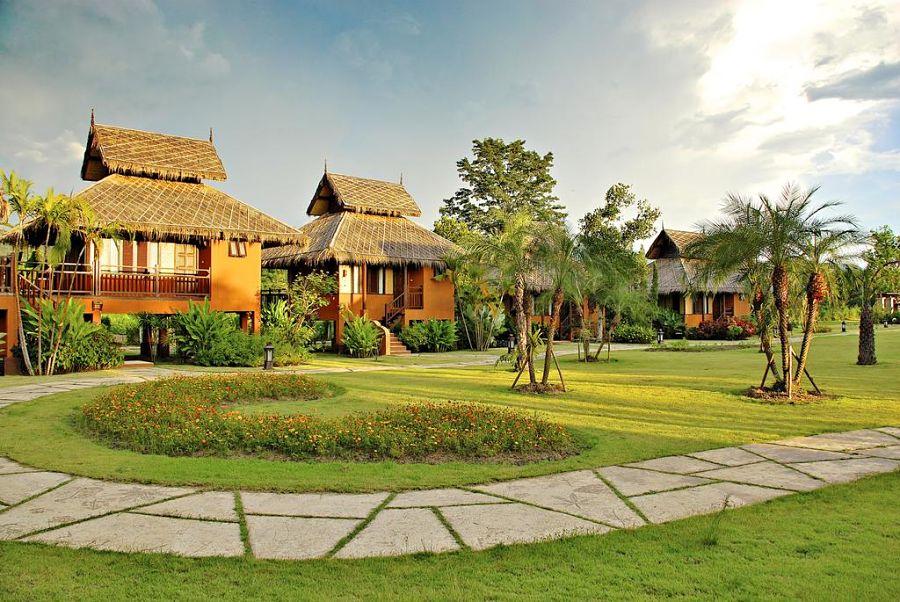 Hotel Pai Hotsprings Spa Resort - Aguas Termales en Pai