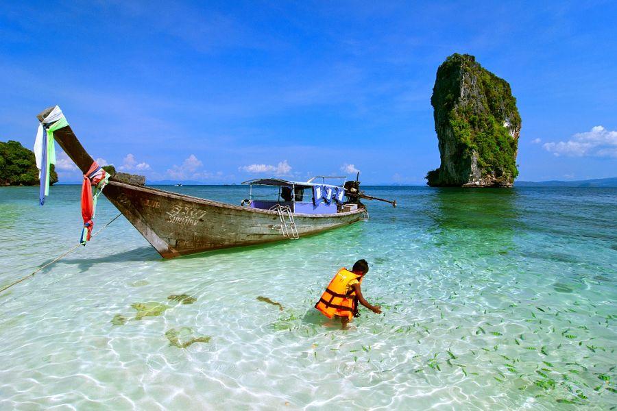 Excursión a las islas de Poda, Tup y Chicken