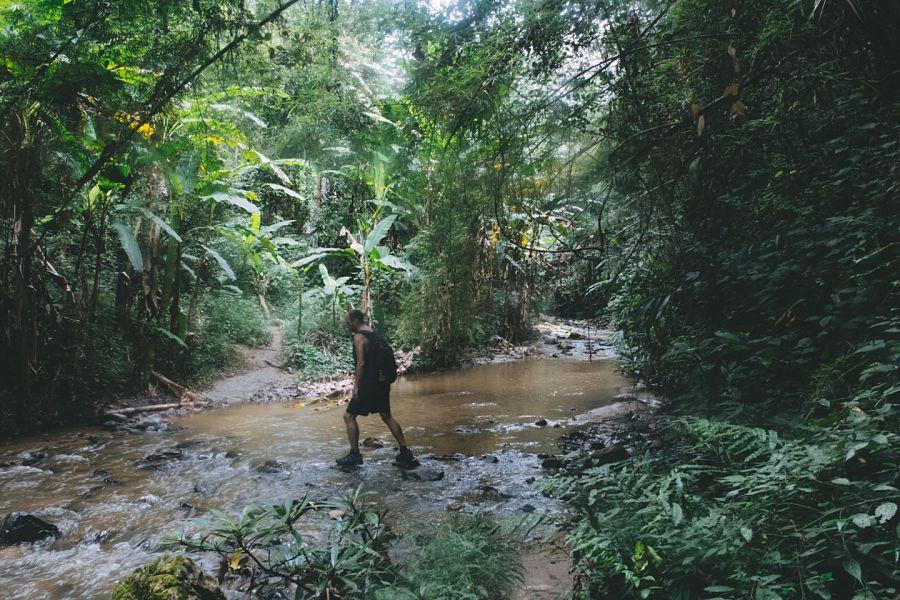 Mae Yen Waterfall - Trekking