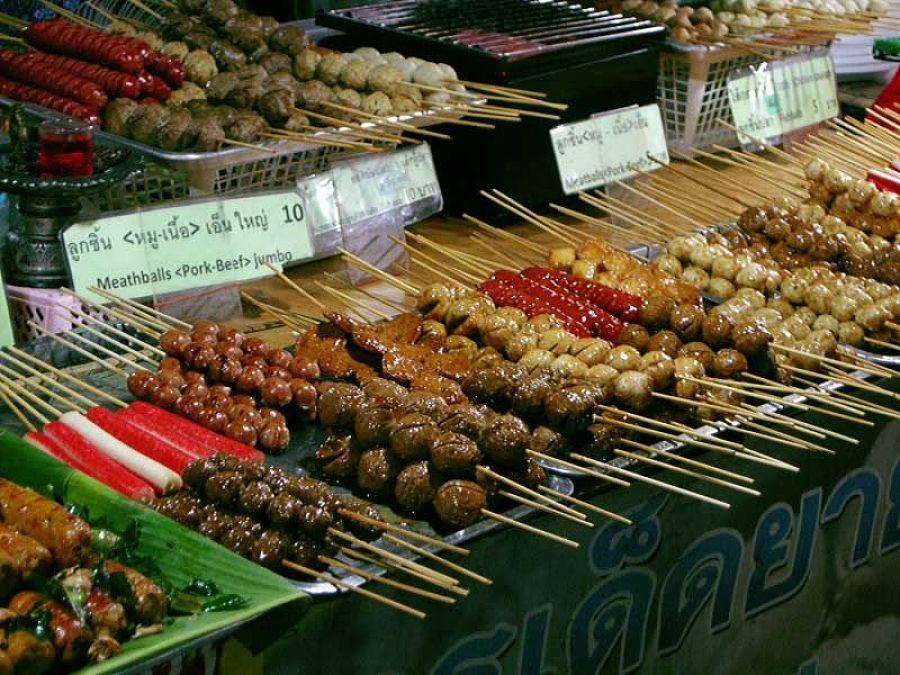 Mercado Nocturno de Pai - Comida Callejera