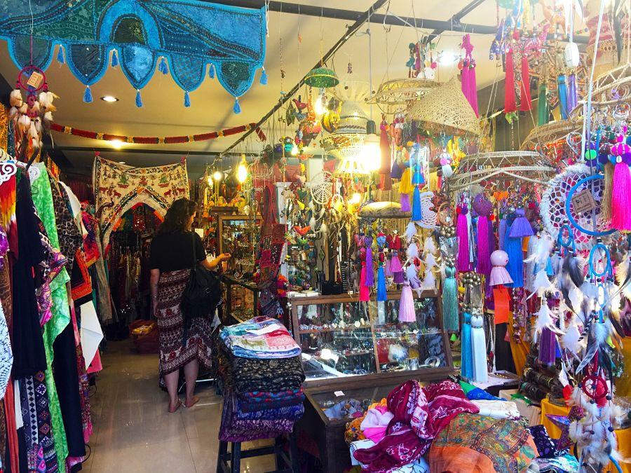 Mercado Nocturno de Pai - Tienda Hippie