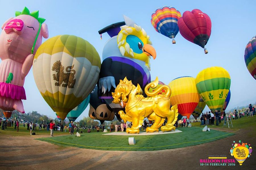 Singha Park - Festival de Globos