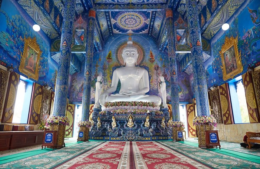 Templo Azul de Chiang Rai - Buda
