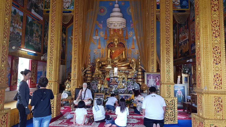 Templo Phra That Doi Kham - Chiang Mai - Templo Exterior