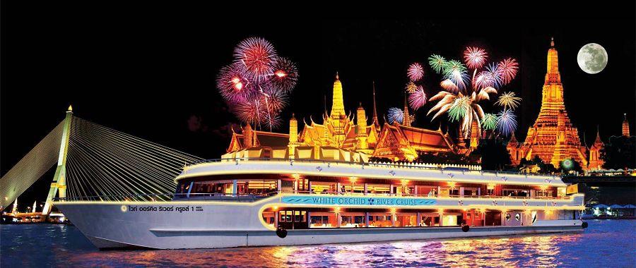 Crucero y Cena por el Río Chao Phraya