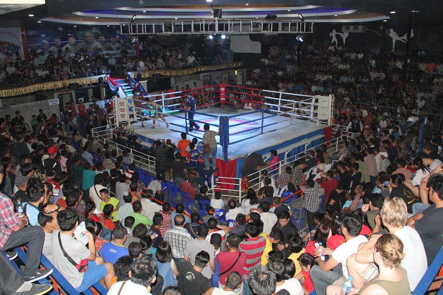 Dónde ver Muay Thai en Chiang Mai - Chiang Mai Boxing Stadium