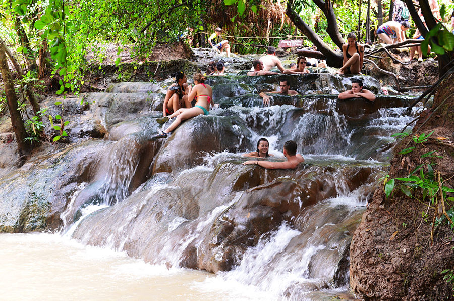 Krabi Hot Springs - Aguas Termales