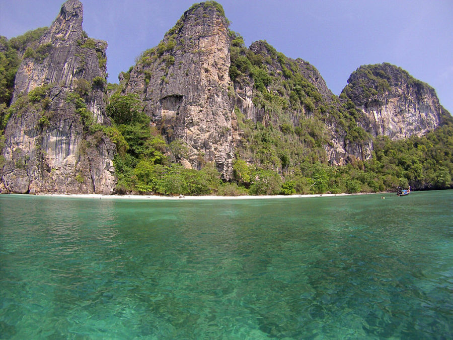 Mosquito Island - Playa