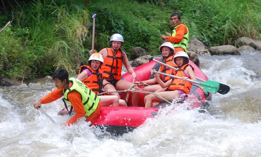 Cosas que hacer en Krabi - Rafting