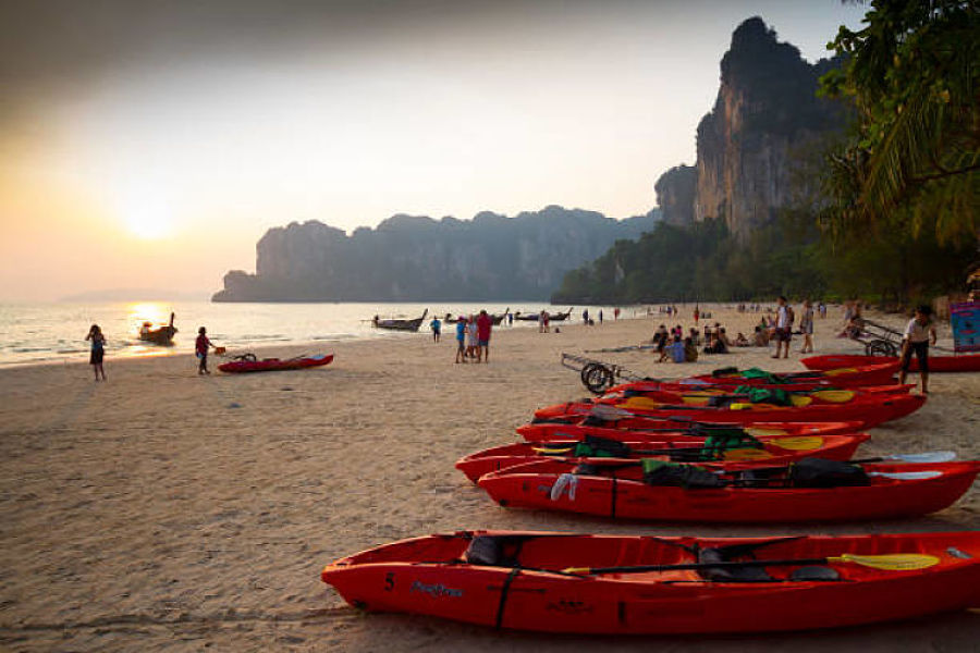 Railay West Beach - Krabi - Atardecer