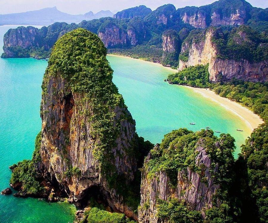 Railay West Beach - Krabi - Panorámica
