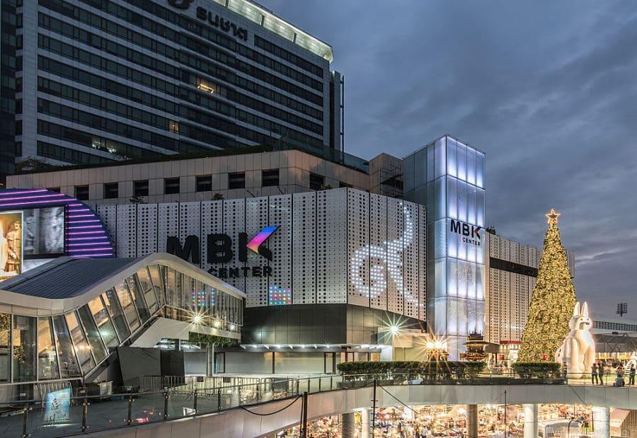 Ir de compras al Centro Comercial MBK de Bangkok