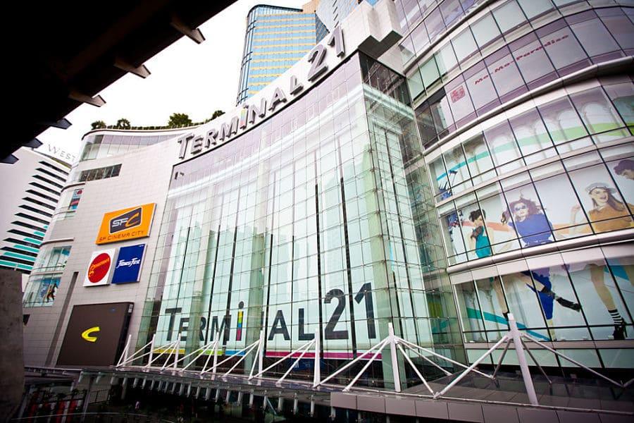 Ver centros comerciales de Bangkok