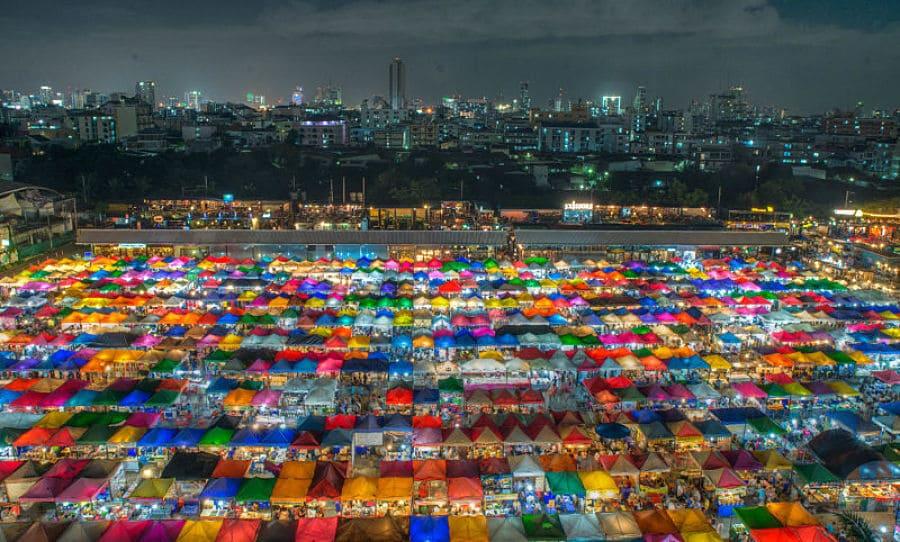 Ver el Mercado Chatuchak de Bangkok