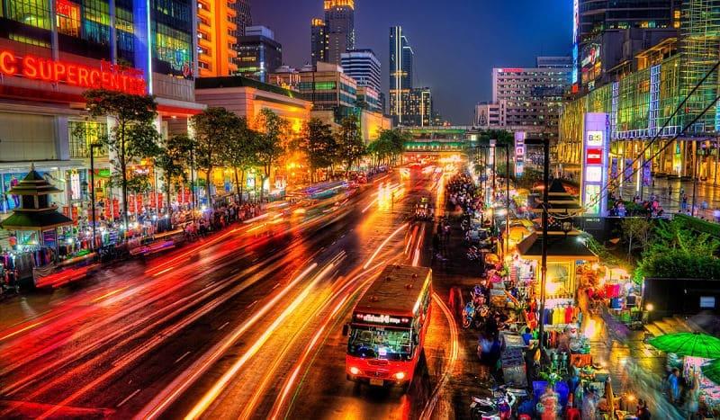 Salir de Fiesta en Bangkok
