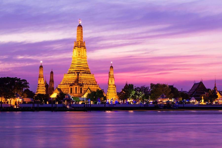 Wat Arun o Templo del Amanecer - Bangkok