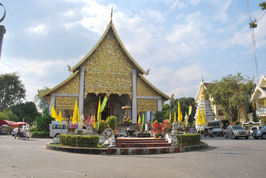Templos de Chiang Mai - City Pillar Shrine