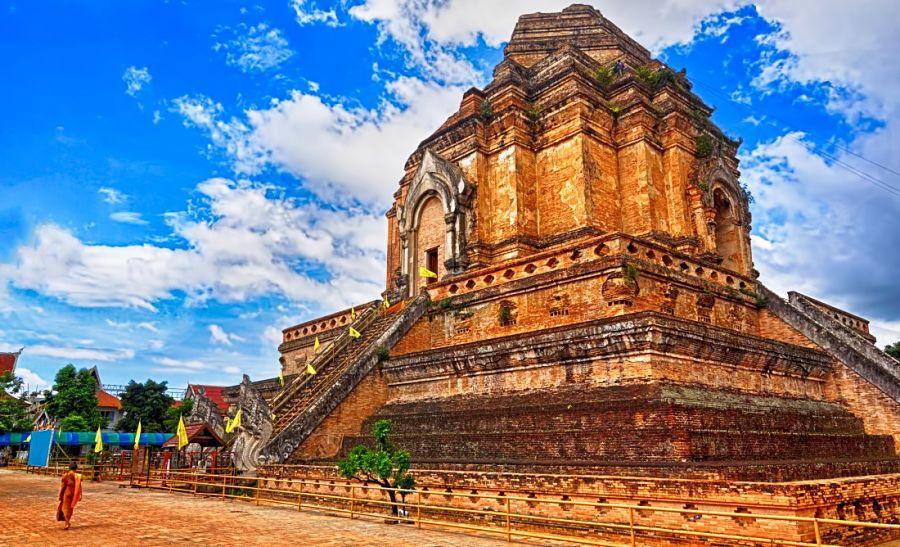 Templos de Chiang Mai - Wat Chedi Luang