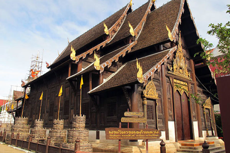 Templos de Chiang Mai - Wat Phantao
