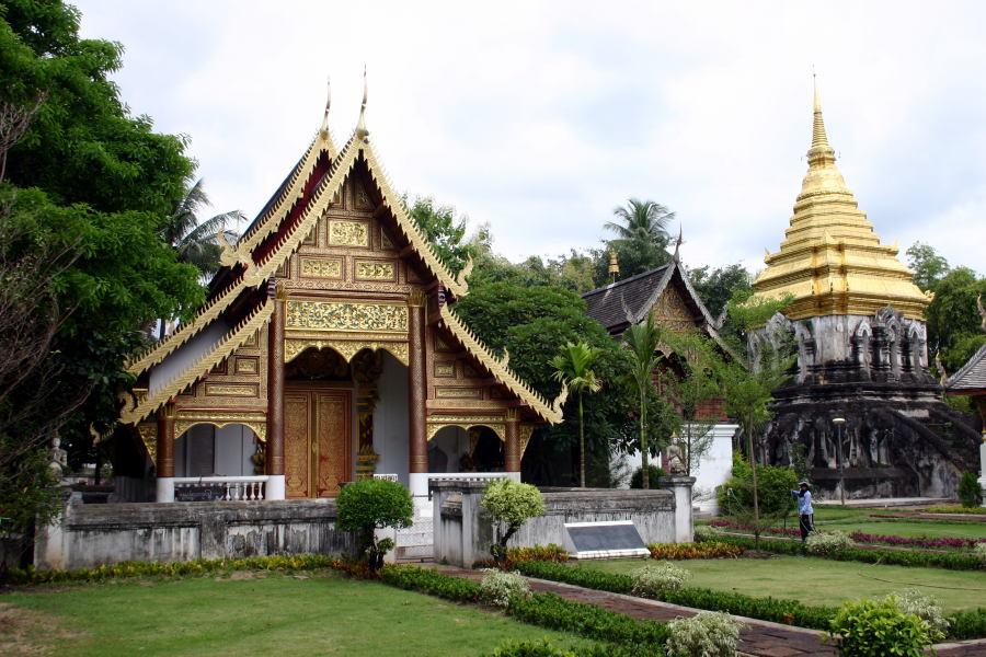 Wat Chiang Man - Templos de Chiang Mai