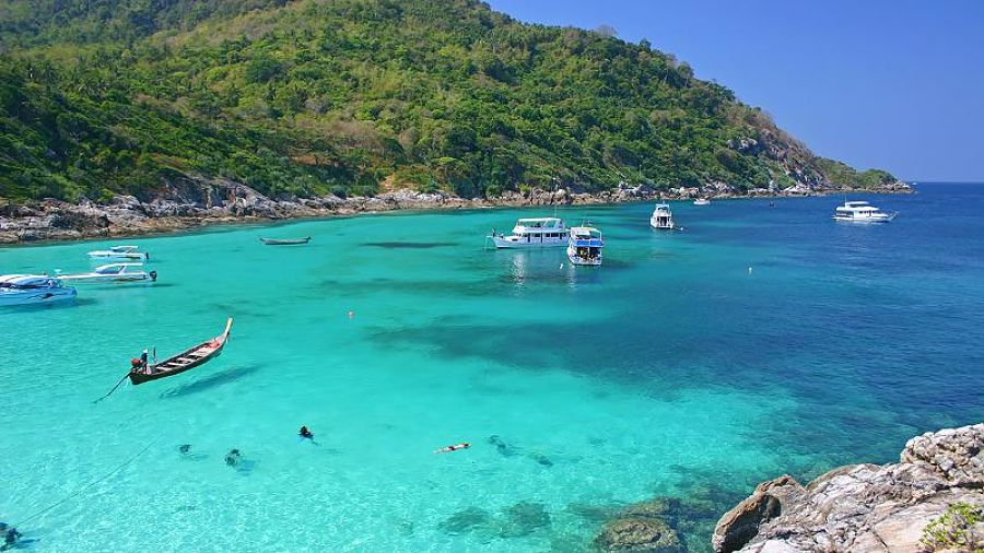 Aguas de las Islas Similan