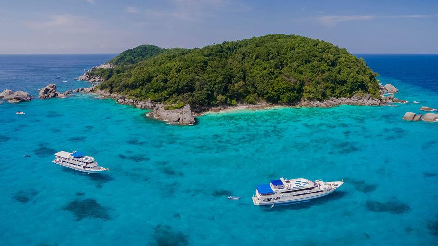 Barcos a las Islas Similan
