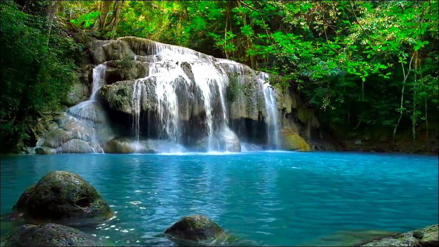 Cascadas Erawan - Kanchanaburi (Tailandia)