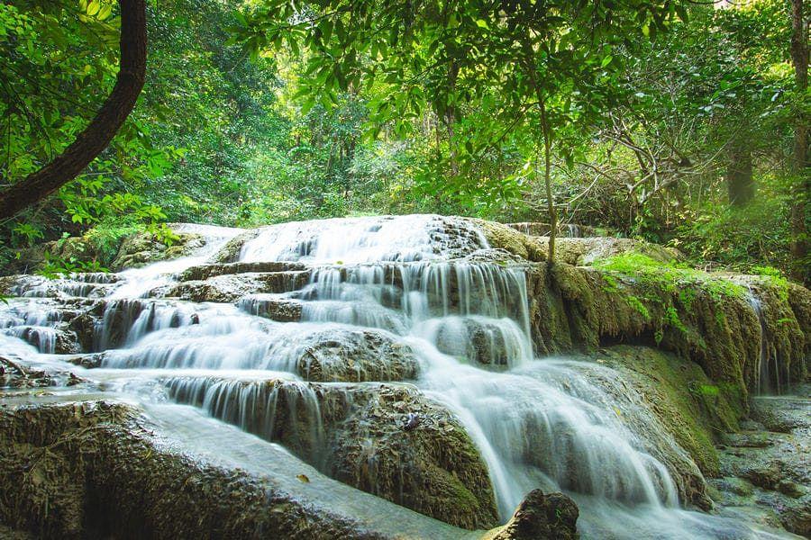Cascadas Erawan - Nivel 1 - Kanchanaburi (Tailandia)