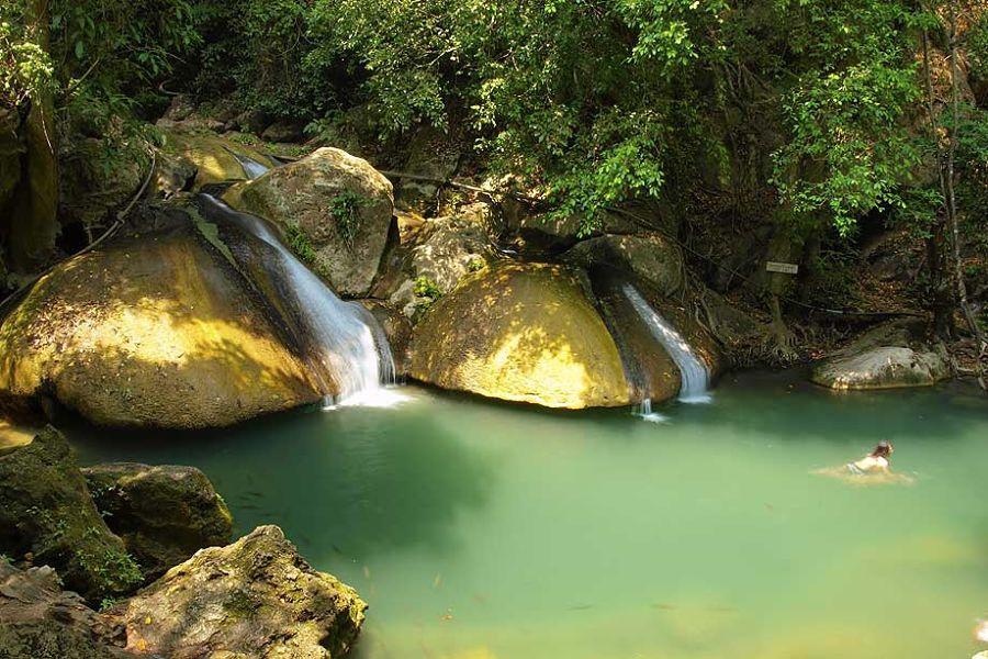 Cascadas Erawan - Nivel 4 - Kanchanaburi (Tailandia)