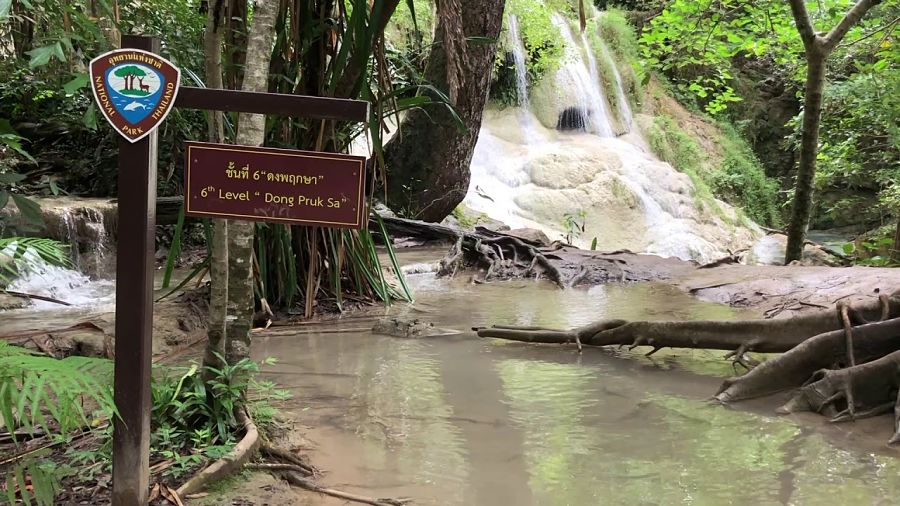 Cascadas Erawan - Nivel 6 - Kanchanaburi (Tailandia)