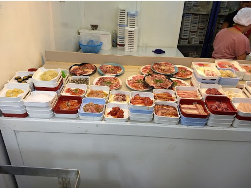 Comida en Party Buffet Restaurant - Chiang Mai