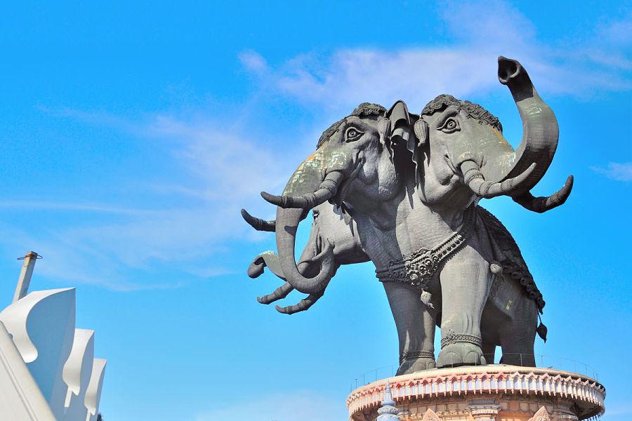 Elefante mitológico Erawan
