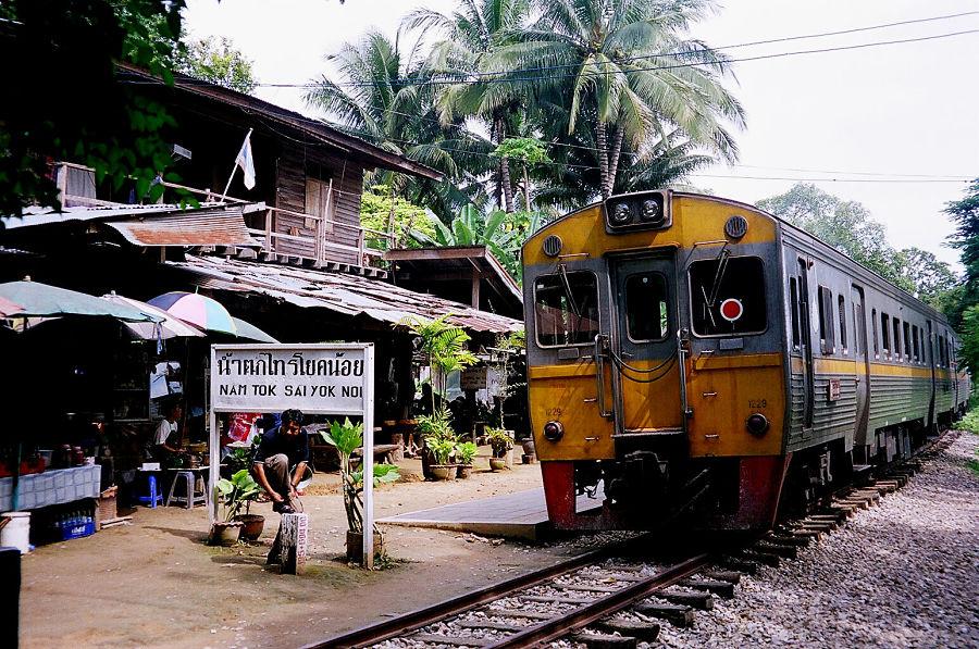 Estación del Tren de la Muerte en Nam Tok