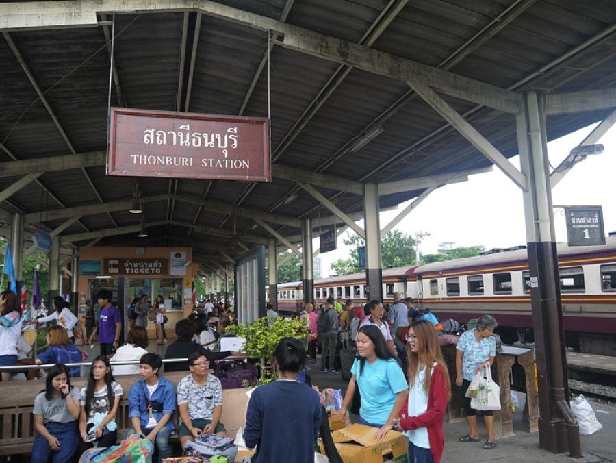Estación de Trenes de Thon Buri - Bangkok