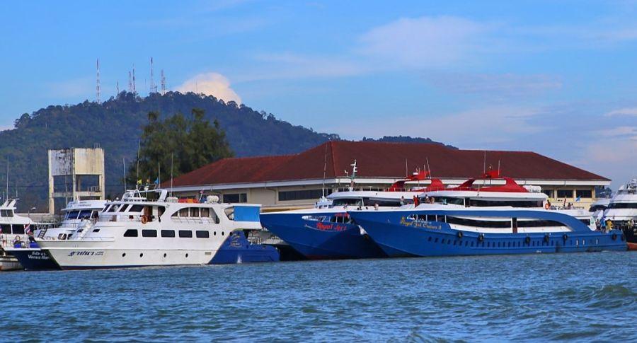 Ferry low cost de Krabi a Koh Phi Phi