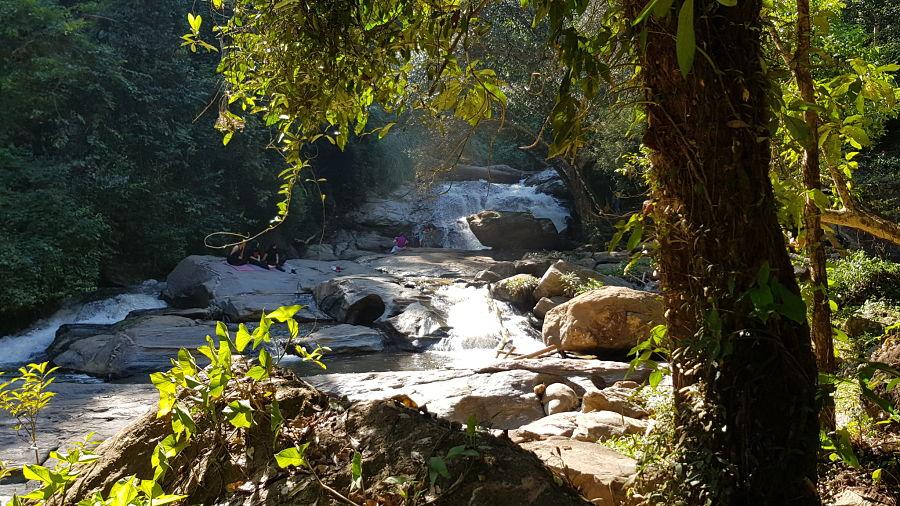 Mae Sa Waterfall - Cascada Nivel 7