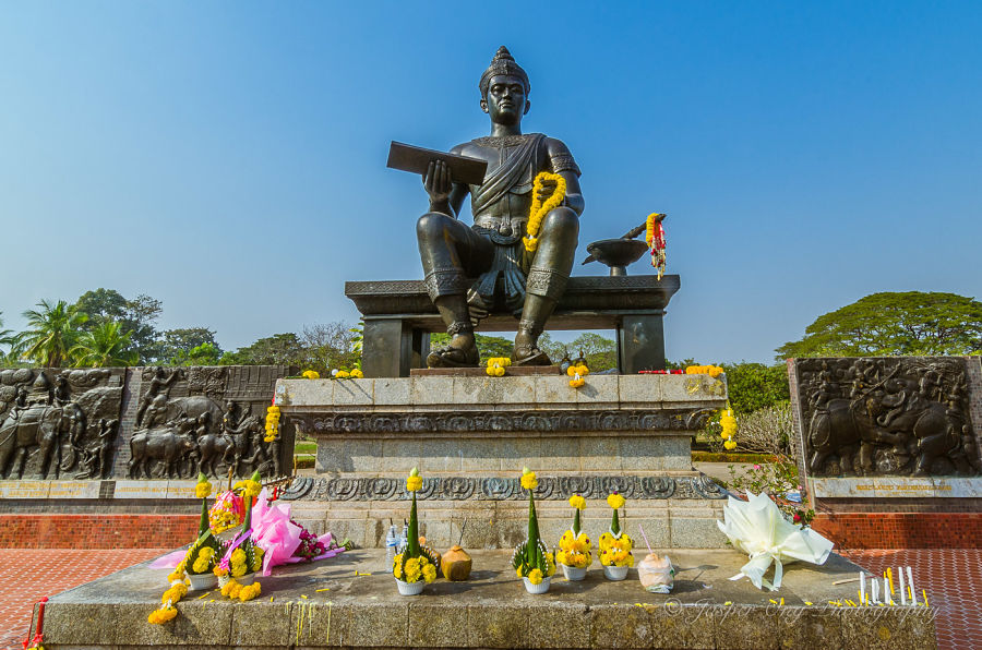 Monumento del Rey Ramkhamhaeng de Sukhothai