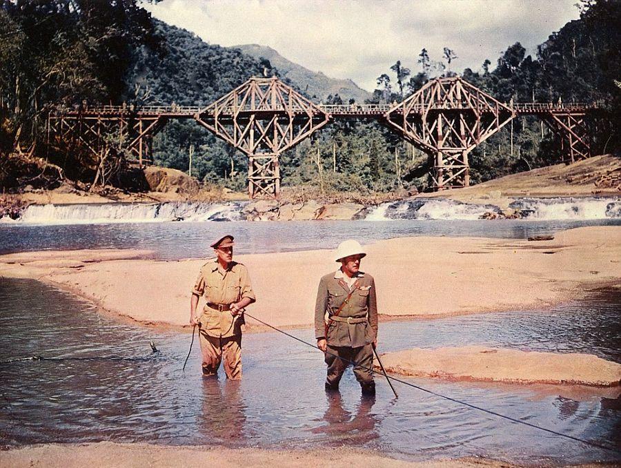 Película El Puente Sobre el Río Kwai