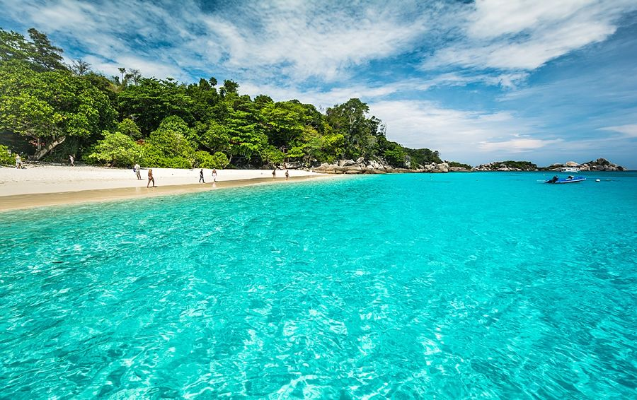 Playas de las Islas Similan