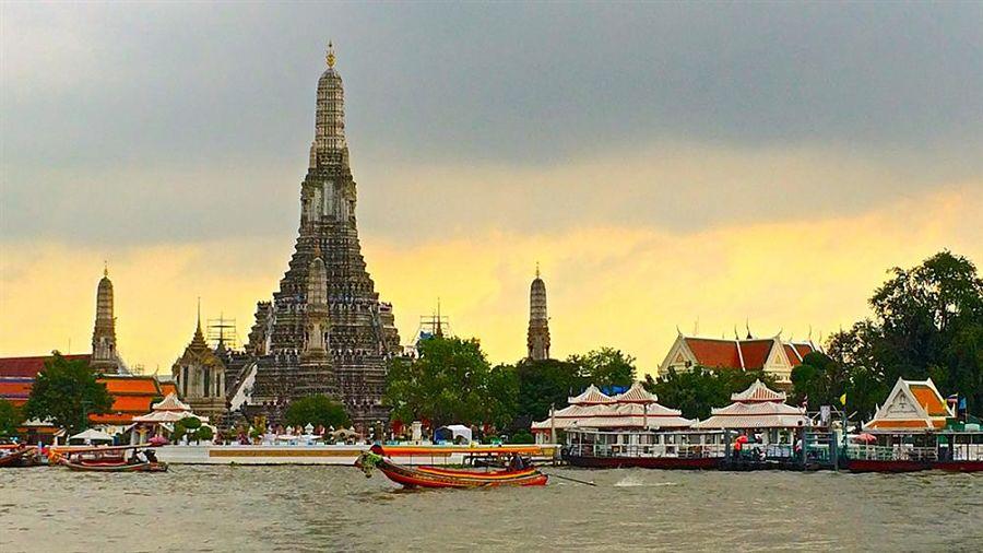 Río Chao Phraya - Bangkok