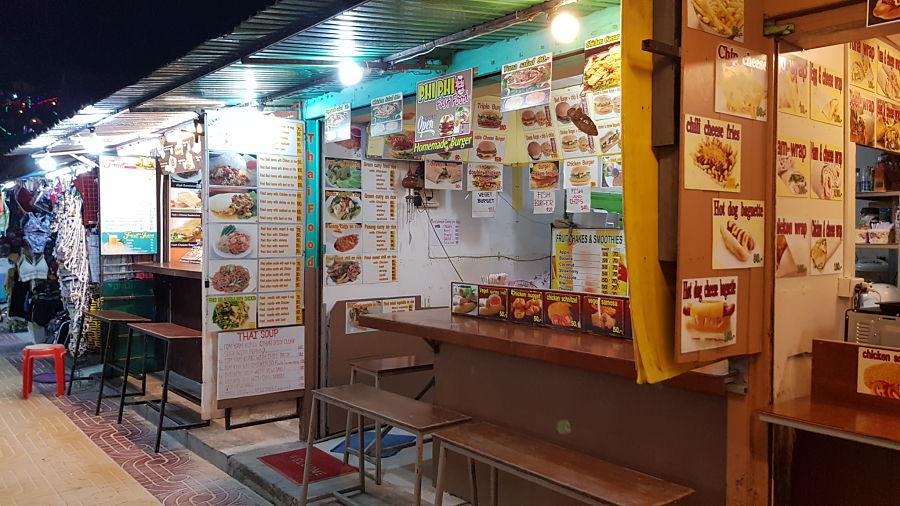 Restaurantes Low Cost en Koh Phi Phi