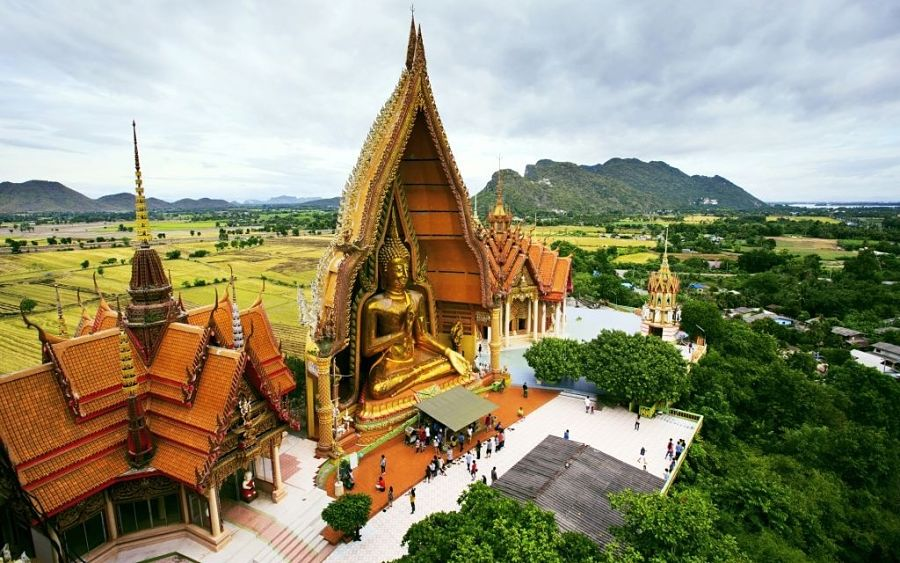 Templo Wat Tham Suea en Kanchanaburi