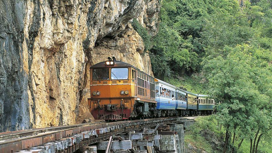 Tren de la Muerte - Kanchanaburi (Tailandia)