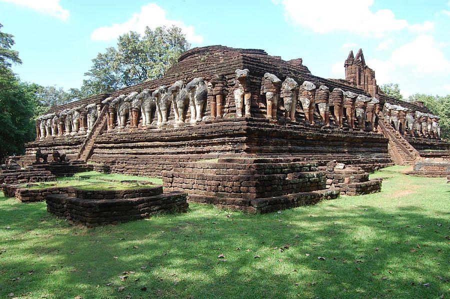 Wat Chang Rop - Kamphaeng Phet