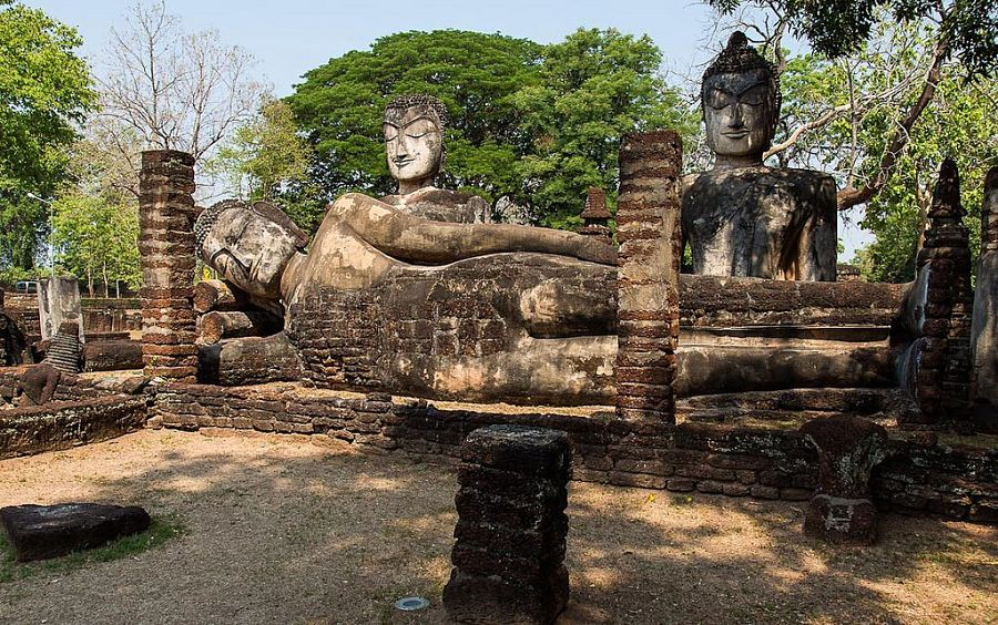 Wat Phra Kaew - Parque Histórico de Kamphaeng Phet
