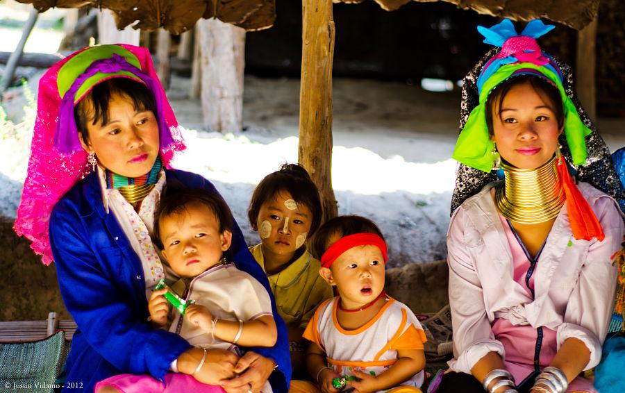 Mujeres Jirafa de Tailandia