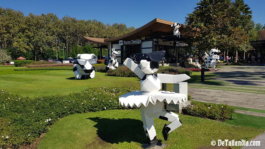 Oficina de información del Singha Park de Chiang Rai
