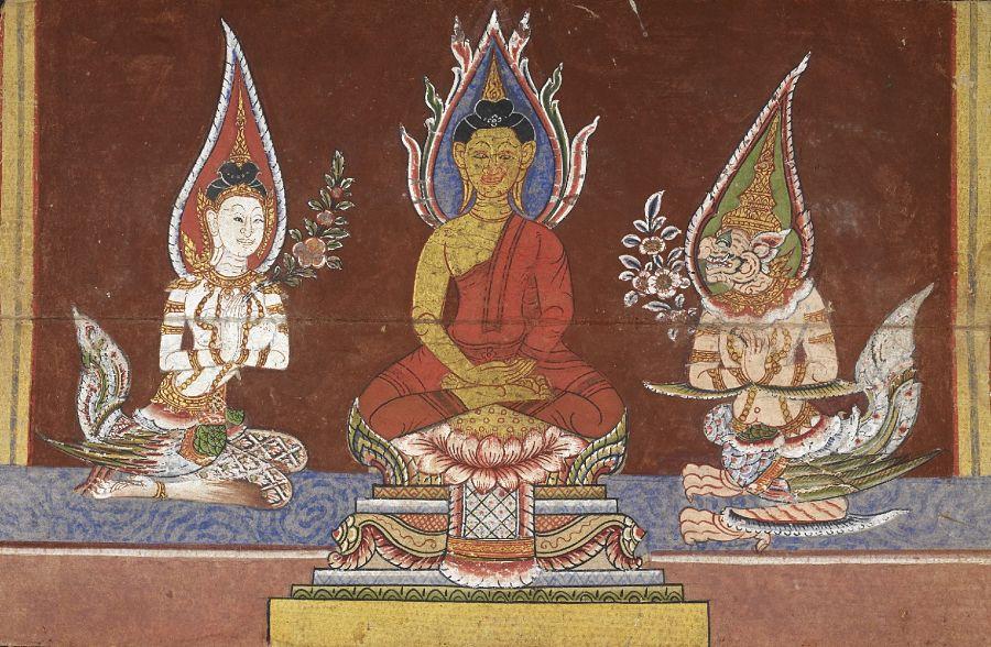 Pinturas Históricas Tailandia