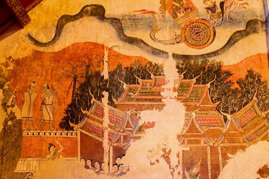Pinturas antiguas de Tailandia